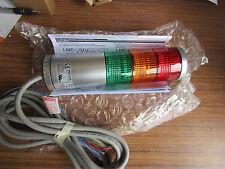 Patlite LME LED Beacon Tower with Buzzer, 3 Light Elements 24Vac/dc Pat 8641416