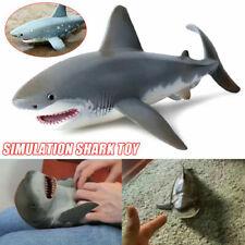 Lifelike Shark Shaped Kids Baby Toy Realistic Simulation Animal Model Gifts