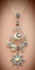 New Design! Perfect Circle of Love Moon  Charm Necklace  FREE SHIPPING!