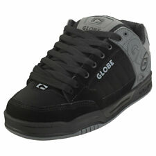 Globe Tilt Mens Iron Black Suede & Synthetic Skate Trainers