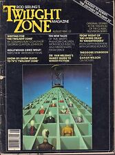 The Twilight Zone Magazine August 1981 Night of the living Dead GD 053116DBE