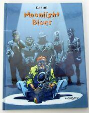MOONLIGHT BLUES CASINI  MOSQUITO COLL NOIR ET BLANC 2005 DEDICACE QUASI NEUF