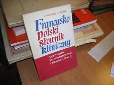 1972.lexique orthopédie français polonais / piatkowski