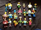 The Simpsons Figures WOS World of Springfield Figures Playmates Make Selection