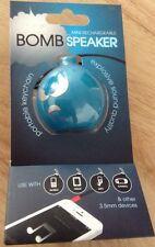 Hype HIP Bomb Rechargeable Mini Portable Keychain Speaker-Phone-Tablet-MP3-Games