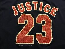 CLEVELAND INDIANS MLB  MESH DAVID JUSTICE #23 V JERSEY BY SPORT ATTACK MEN'S M