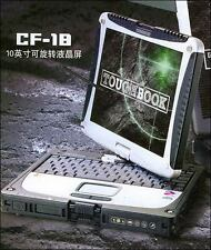 Panasonic ToughBook CF-18 Laptop - 1GB RAM 40GB HDD Windows xp