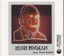 CD ALBUM THE JUAN MACLEAN / LESS THAN HUMAN / DIGIPACK