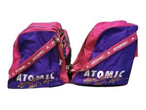 Atomic Skischuhtasche 2 Stück Vintage 80ger wie neu