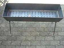 Mangal aus 3 mm 80x27 cm Stahl Grill Mangal Schaschlik ohne Zubehör