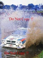 MARKKU ALEN MARTINI LANCIA DELTA S4 RAC Rally 1985 fotografia 2