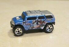 2003 Mattel Rockster Hot Wheels Diecast Toy Car Collectible Blue Loose