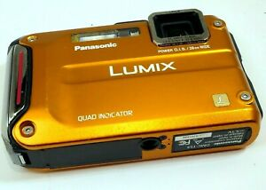 Panasonic LUMIX DMC-TS4/DMC-FT4 12MP waterproof underwater - AS IS PARTS