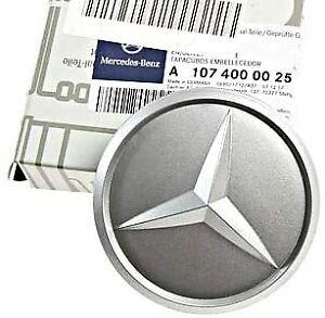 Mercedes-Benz Genuine Silver  Wheel Center Hub Cap For Alloy Wheel NEW OEM