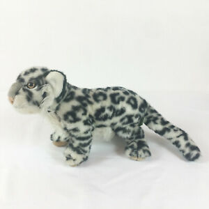 """A10 Vintage Applause WWF Snow Leopard Cat Plush! 15"""" Stuffed Toy Lovey"""