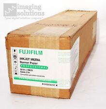 "FujiFilm Inkjet Media Banner Paper Professional 24""X150' P/N: 600008202 Core 2"""
