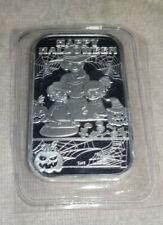 2020 Halloween Baked Goods 1 oz Silver Art Bar CMG Mint