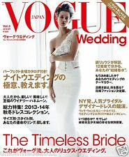Vogue Wedding Vol.3 Magazine book 2013-14 Designer Dress Rings Bridal Vera Wang