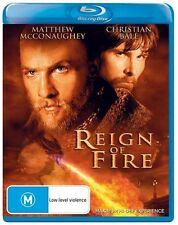 REIGN OF FIRE - BLU-RAY - REGION B - NEW