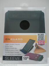ONGUARD Elegant,Versatile,Protection for your Tablet  Black 10 in. Sleeve