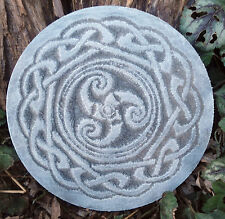 "Plastic Gothic Pagan Wicca Celtic mold decorative plastic mould 7.75"" x 3/4"""