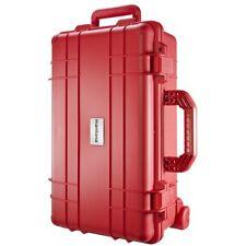 mantona Outdoor Schutz-Trolley, rot, wasserdicht - stoßfest - staubdicht