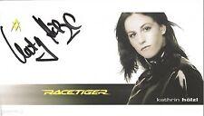 Autogramm AK Kathrin Hölzl Ski alpine Weltmeisterin 2009 Riesenslalom Fischer qu