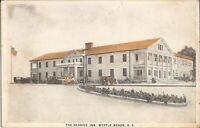 Myrtle Beach, SOUTH CAROLINA - The Seaside Inn - ARCHITECTURE - old cars