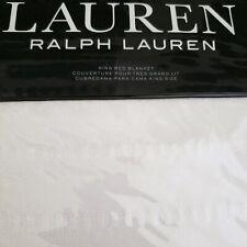 Ralph Lauren King Texture Cotton Bed Blanket in Natural $300