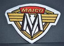 """Brodé tissu BADGE - """"MAICO"""" Motos"""