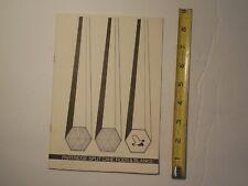 Partridge Split Cane Rods $ Blanks Bamboo Rod Fly Fishing Booklet Catalog
