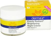 Evenly Radiant Night Creme by Derma E, 2 oz