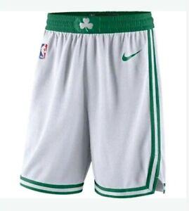 Boston Celtics Authentic Nike Player issued NBA Game Shorts Size 44+2