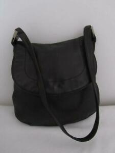 Country Road HANDBAG Genuine Black LEATHER Ladies Bag