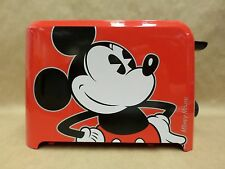 Disney Mickey Mouse Toaster Two Slices with Mickey Mouse Logo Mark Brand New