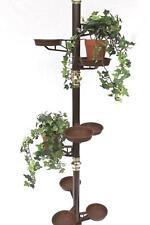 Blumensäule Teleskop 260 cm Blumentreppe Art.7 Blumenständer Pflanzsäule Regal