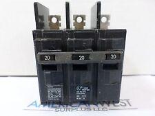 Siemens ITE BQ3B020 20 AMP 3 Pole bolt on 240 volt circuit breaker
