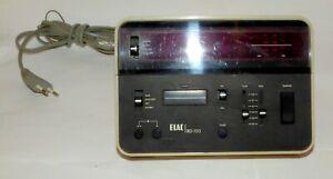 Elac RD 150 Radiowecker, LED, digital, 70er Jahre
