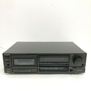 Black Technics RS-BX606 Stereo Cassette Deck 3 Headroom Extension PAT Tested VGC
