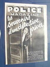 Police 1935 253 BORDEAUX ALAG BAS MEUDON CHILLY MAZARIN