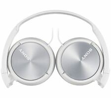 Sony Headphones MDR-ZX310APW-CE7 Wired Foldable Stereo Headset Earphones, White
