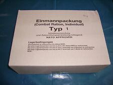 1 x BW Einmannpackung  Typ Nr.1 (EPA) .MHD.06/2020