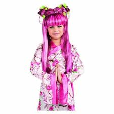 Girls Pink Asian Princess Wig