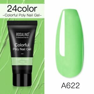 Poly Nail Gel For Nails Extension Nail Art Manicure Acryl Gel Hybrid 30ml Uv
