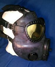 Vintage SURPLUS Gas Mask US M17 SERIES C8R1 WITH FACEPLATE COMMUNICATIONS UNIT