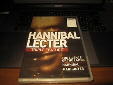 Hannibal Lecter Triple Feature Silence of the Lambs, Manhunter, Hannibal New