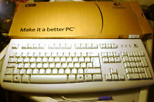 Logitech Delux 250 Keyboard PS/2 Standard UK QWERTY Layout OM0824