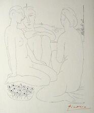 "Pablo Picasso ""Suite Vollard - Trois Femmes nues..."" 1952 Hand Signed Lithograph"