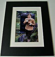 Deborah Watling Signed Autograph 10x8 photo mount display TV Doctor Who & COA