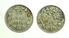 pci3559) FINLAND 50 Pennia 1916 AG
